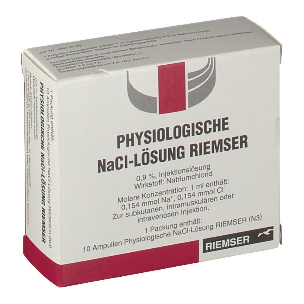 NaCl-Lösung Riemser