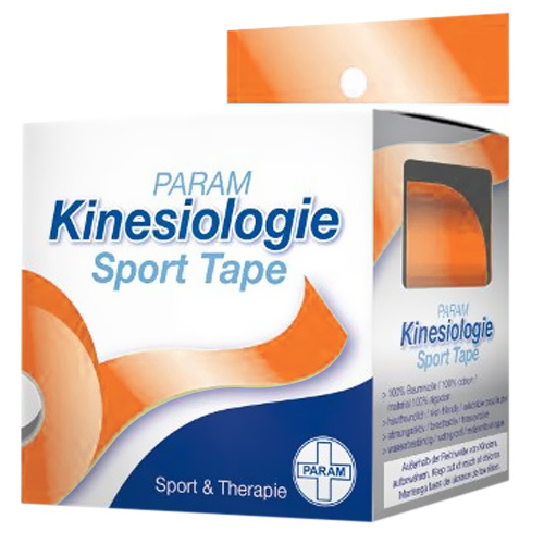 Param Kinesiologie Sport Tape 5 cm x 5 m Orange