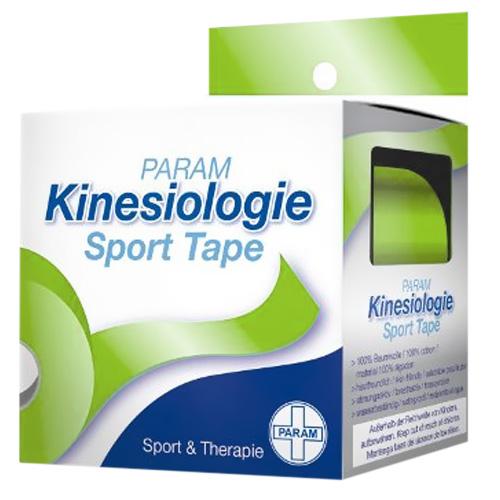 Param Kinesiologie Sport Tape 5 cm x 5 m grün