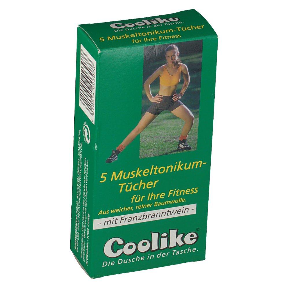 Coolike® Muskeltonikum-Tücher
