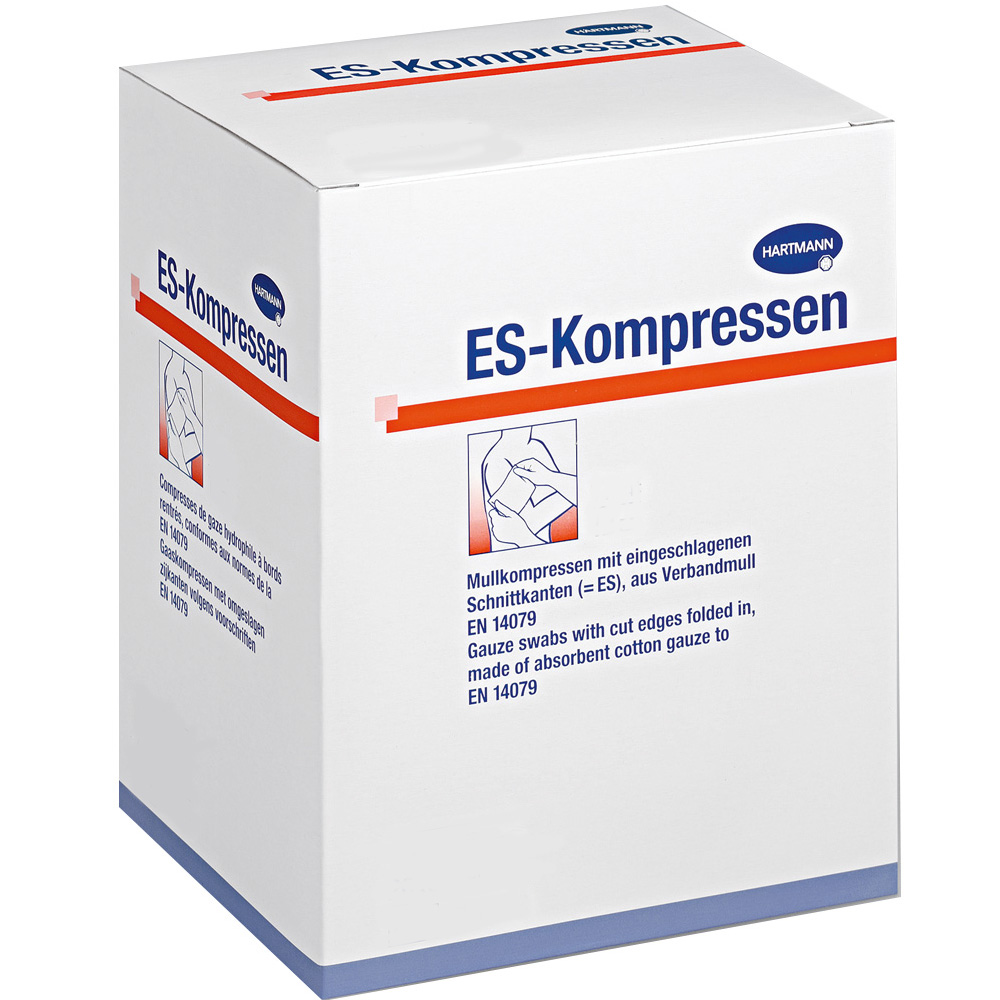 ES-Kompressen unsteril 8fach 5 x 5 cm