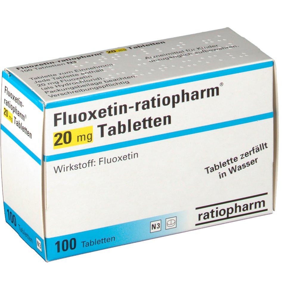 Fluoxetin ratiopharm 20 mg Tabletten - shop-apotheke.com