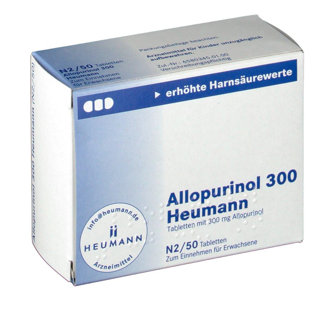 Allopurinol 300 Heumann Tabletten - shop-apotheke.com