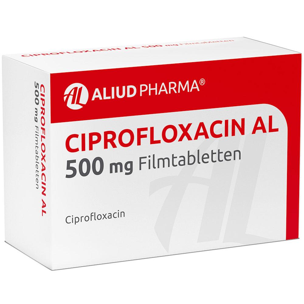 Aicar dosing of cipro