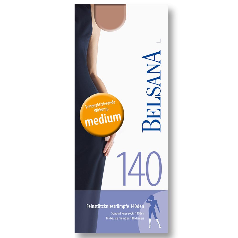 Belsana 140den Feinstützkniestrümpfe Größe 3 Schuhgröße 41 - 43 Bronze