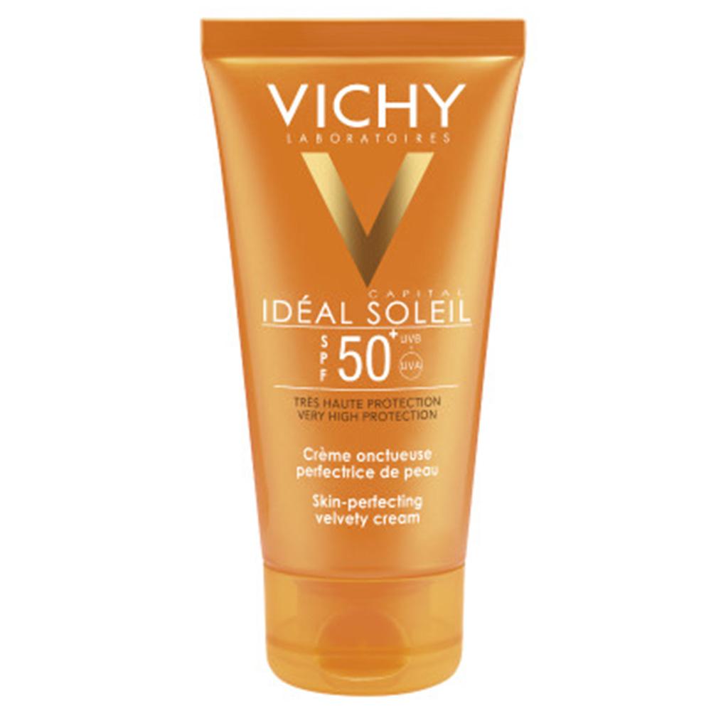 Vichy Idéal Soleil Hautperfektionierende Sonnencreme Gesicht LSF 50+