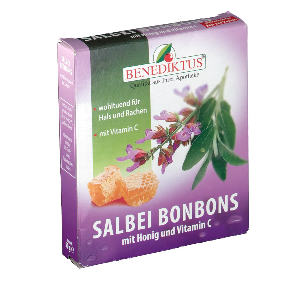 salbei bonbons honig vitamin c shop. Black Bedroom Furniture Sets. Home Design Ideas