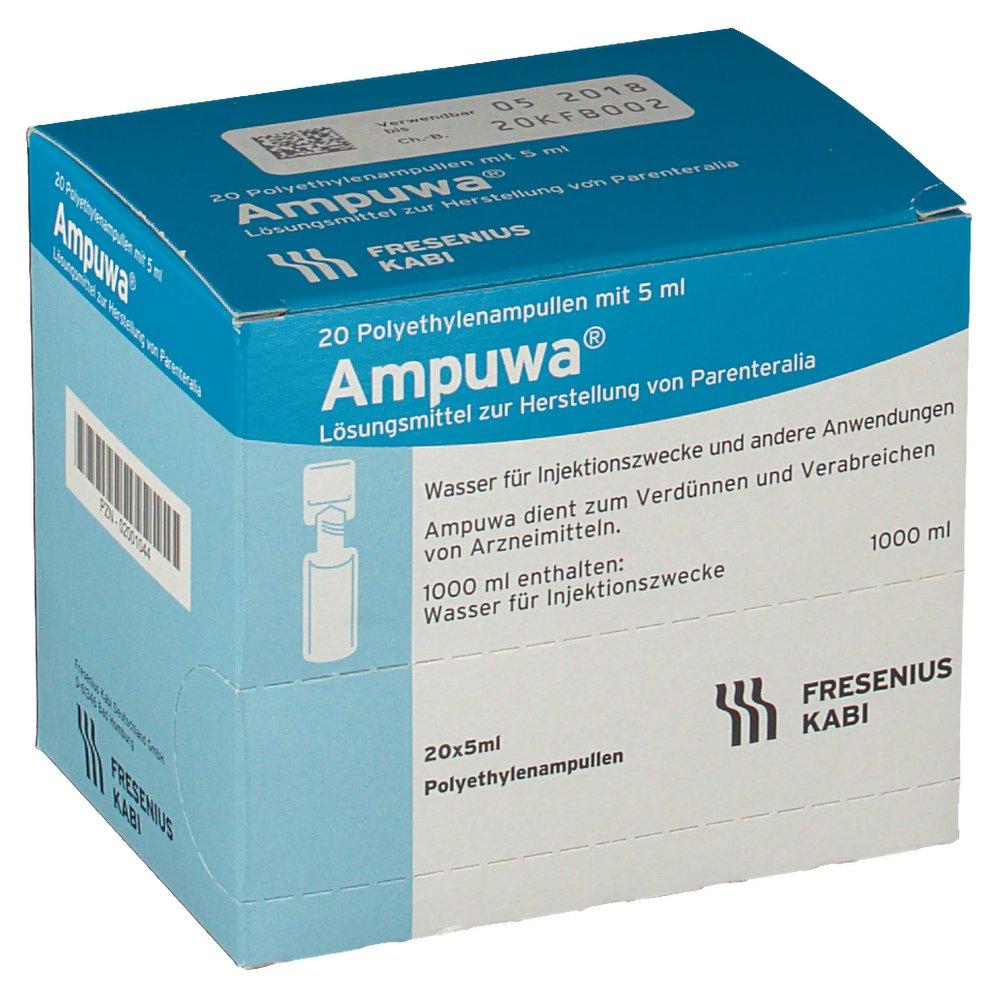 Ampuwa Plastikamp. Injektions-/Infusionslösung