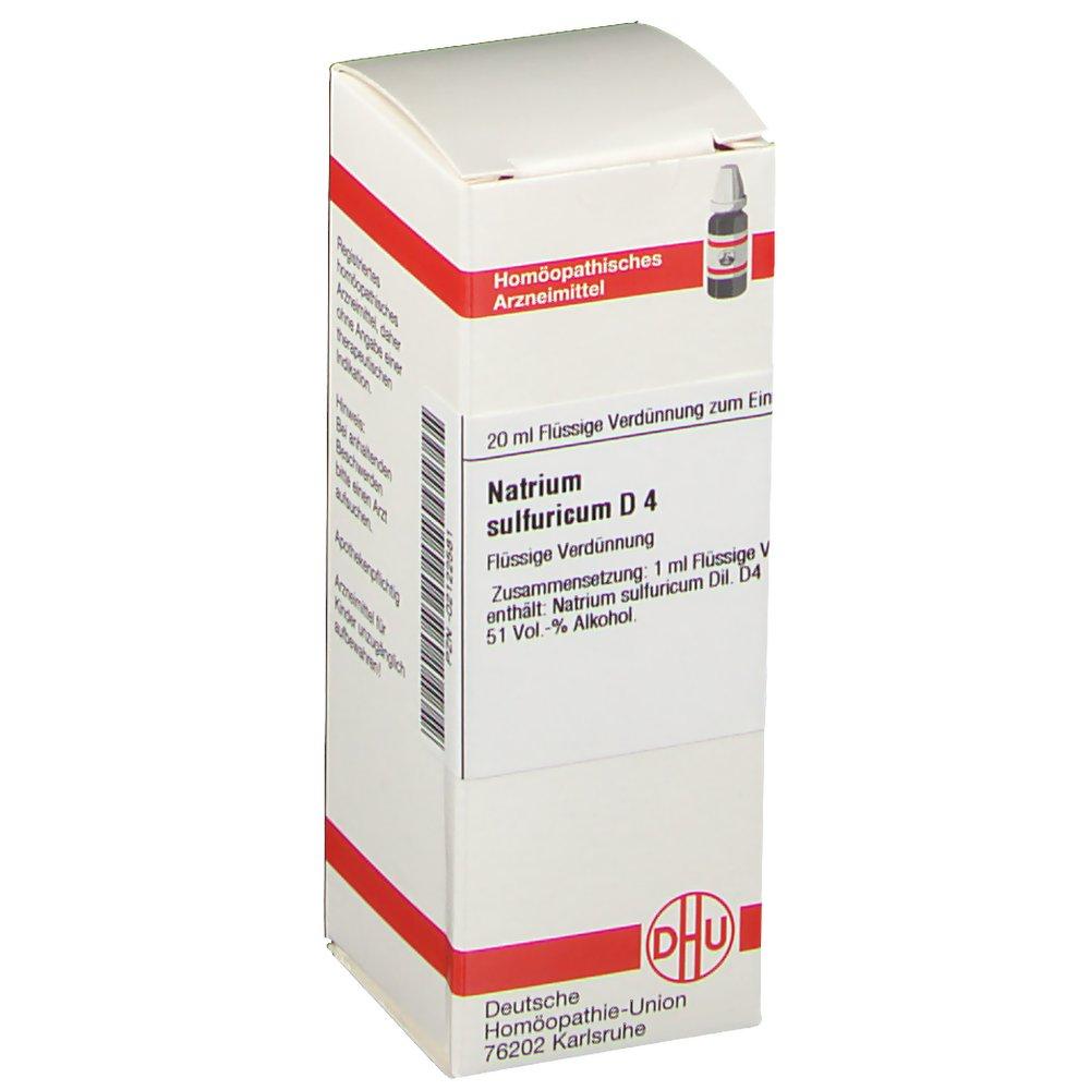 DHU Natrium sulfuricum D4 Dilution