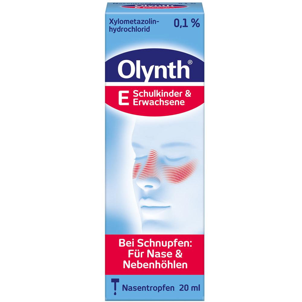Olynth® 0,1% Nasentropfen für Schulkinder und Erwachsene
