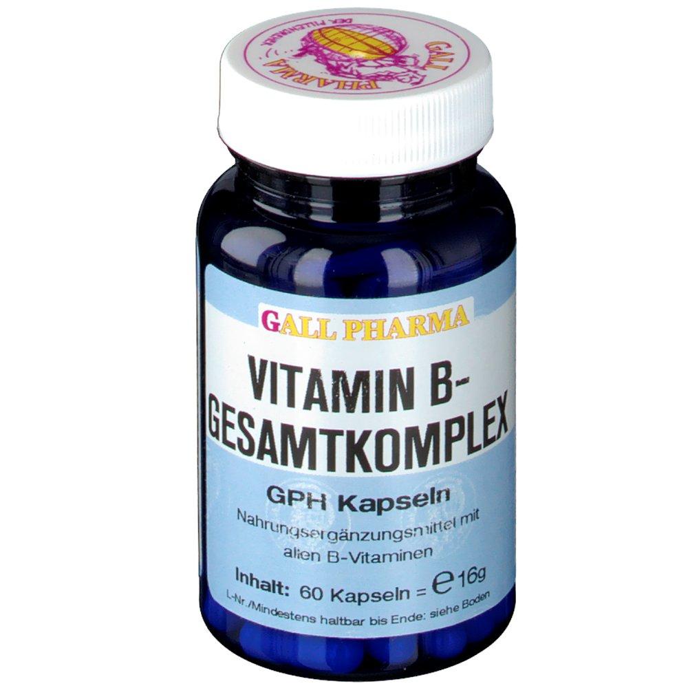 Gall Pharma Vitamin-B Gesamtkomplex GPH Kapseln