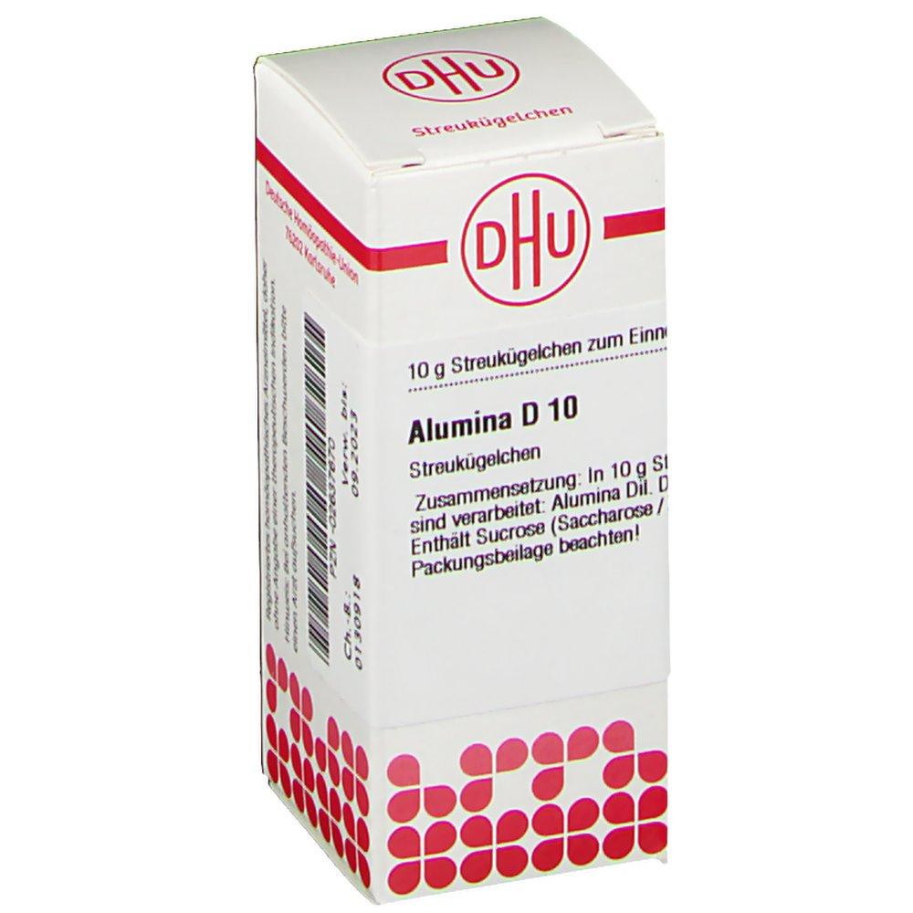 DHU Alumina D10 Globuli