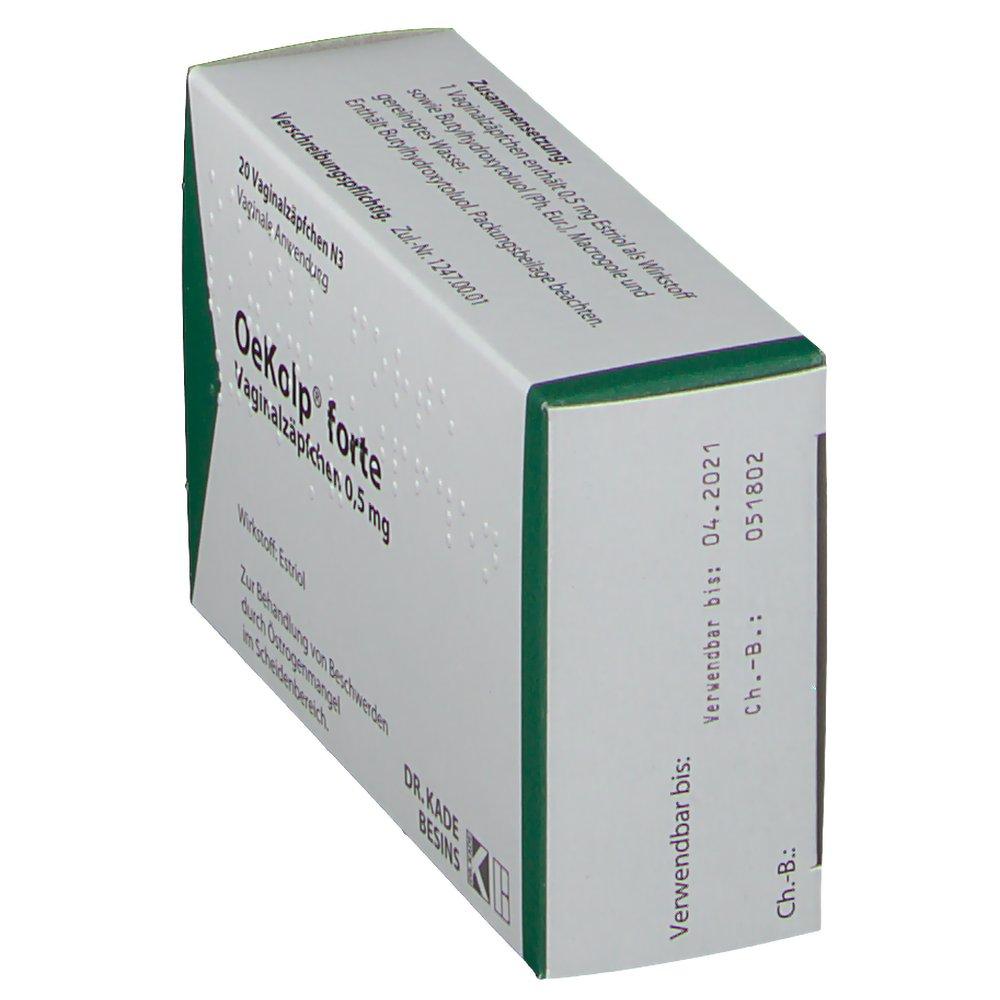 Oekolp forte Vaginalsuppos. - shop-apotheke.com