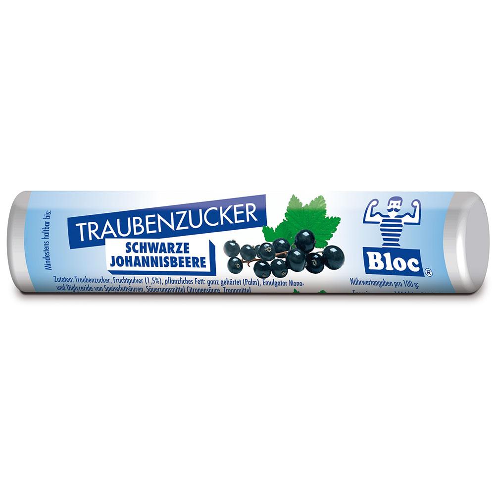 Bloc® Traubenzucker Schwarze Johannisbeere