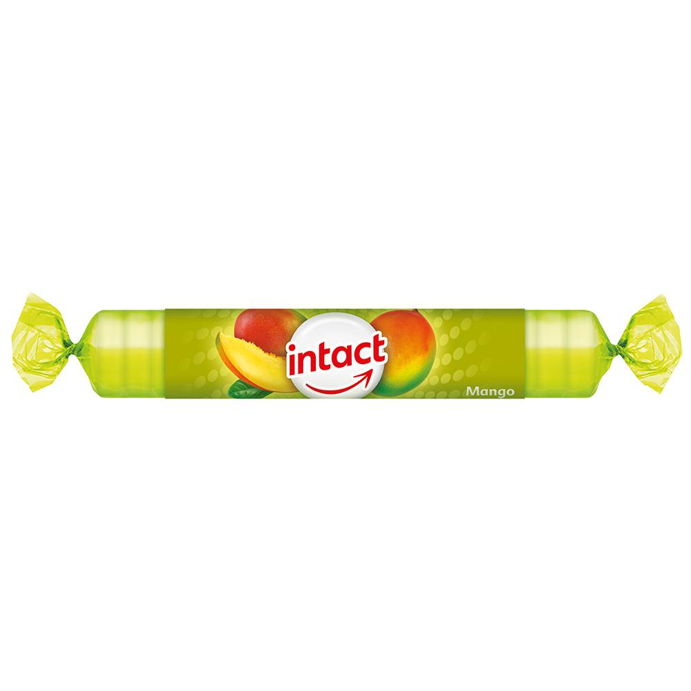 intact Traubenzucker-Rolle Mango