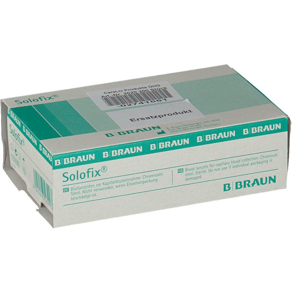 Solofix® Blutlanzetten steril