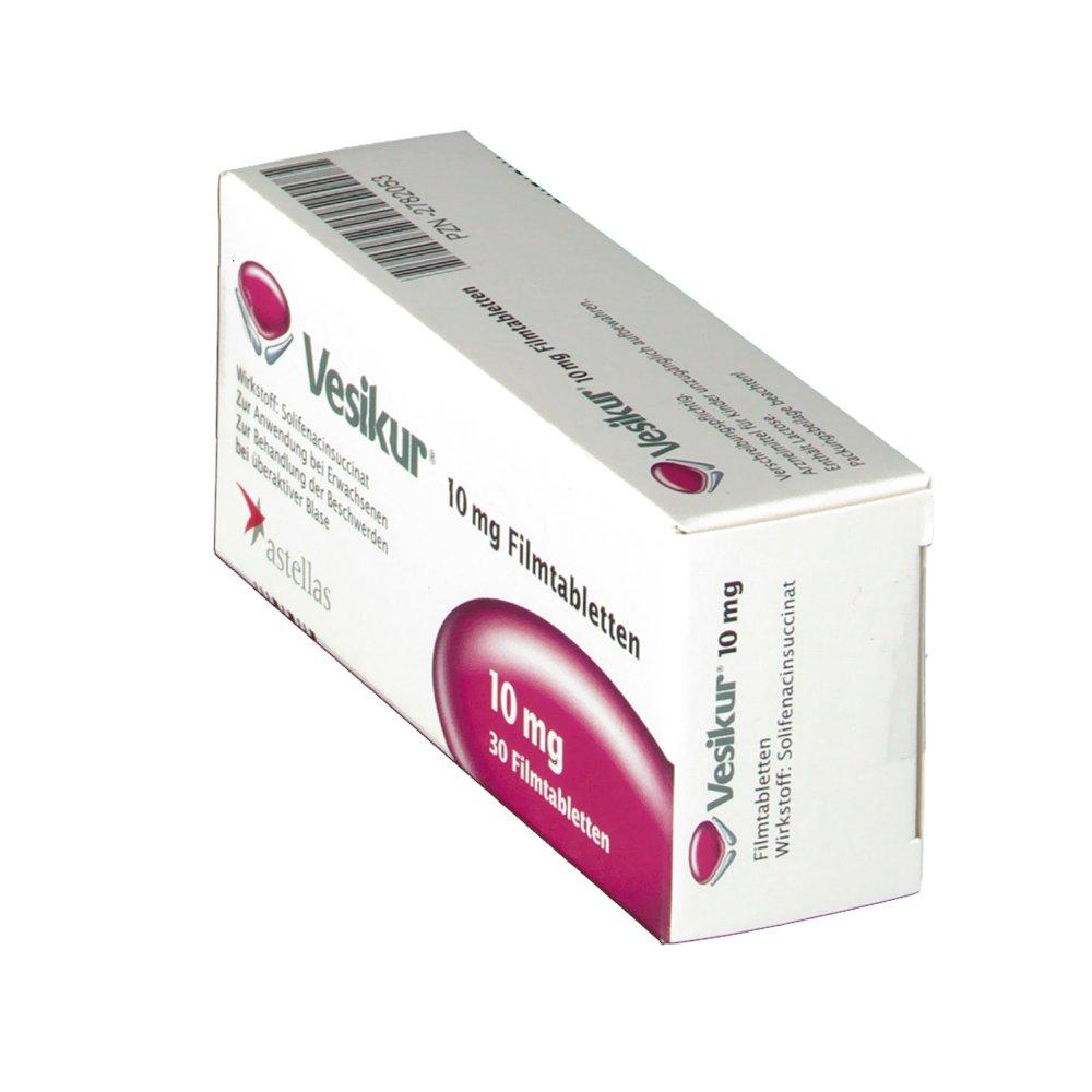 VESIKUR 10 mg Filmtabletten - shop-apotheke.com