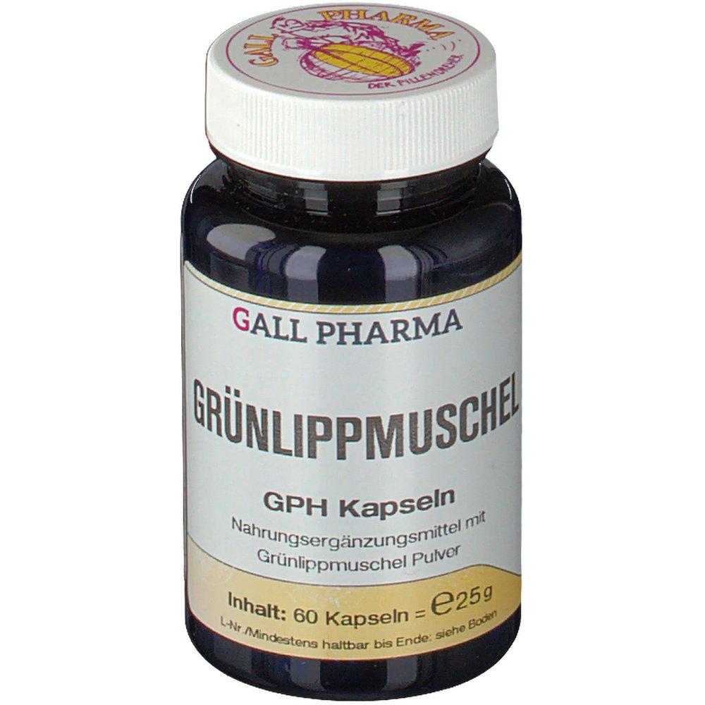 Gall Pharma Grünlippmuschel GPH Kapseln