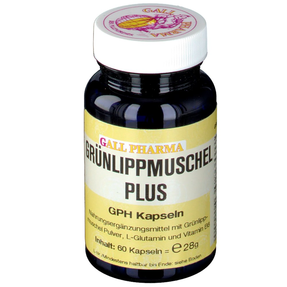 Gall Pharma Grünlippmuschel Plus GPH Kapseln