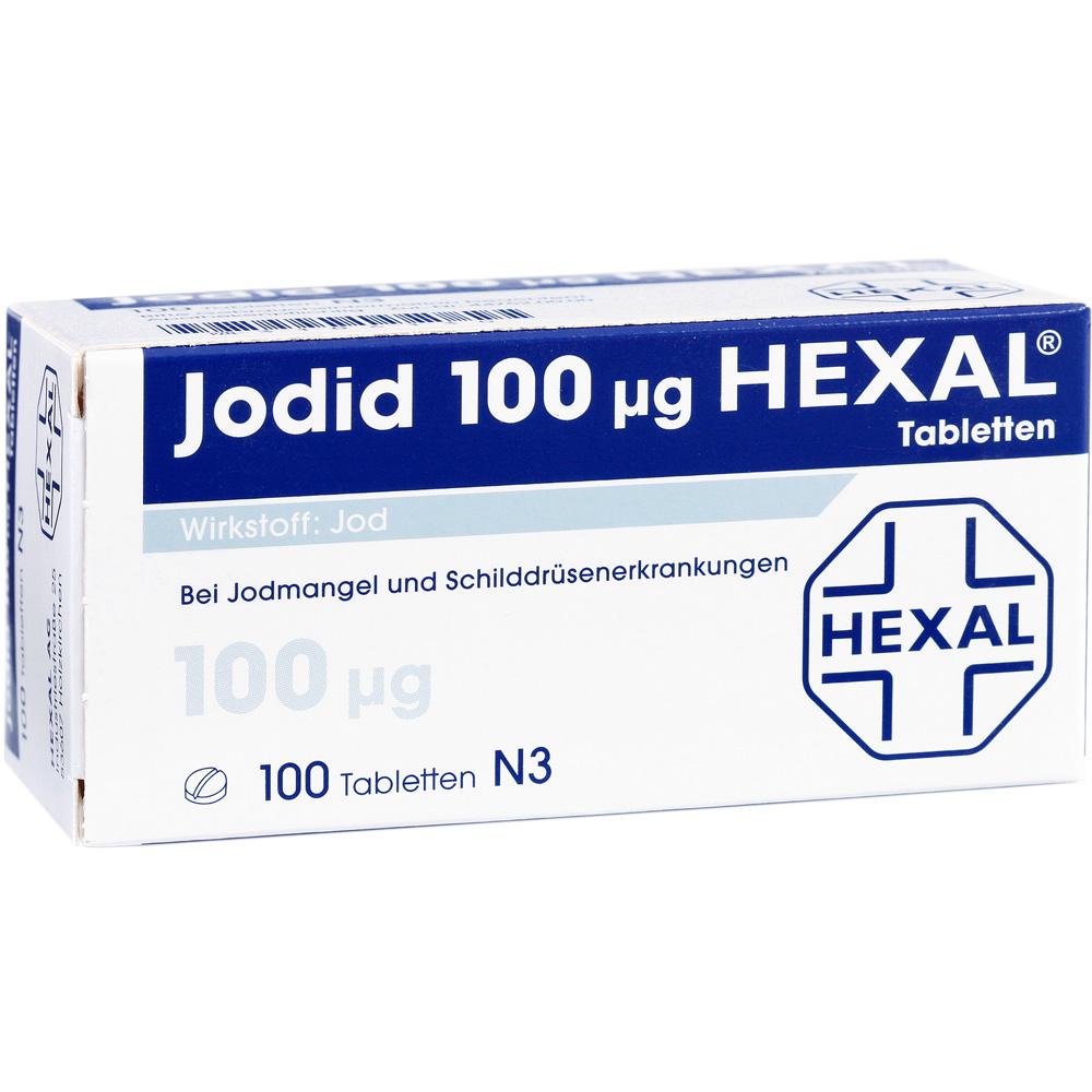 Jodid 100 µg Hexal® Tabletten