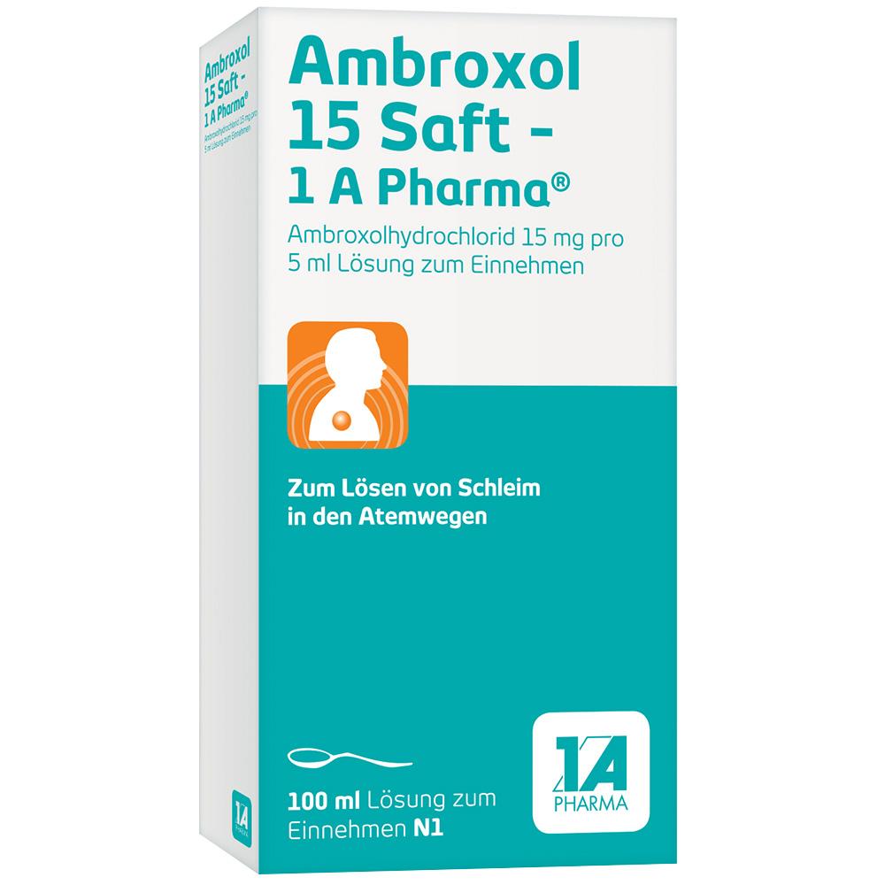 Ambroxol 15 Saft - 1A Pharma®