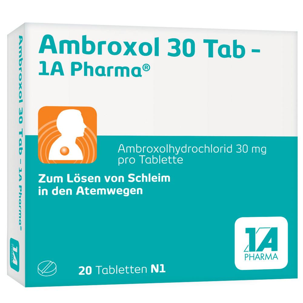 Ambroxol 30 Tab – 1A-Pharma®