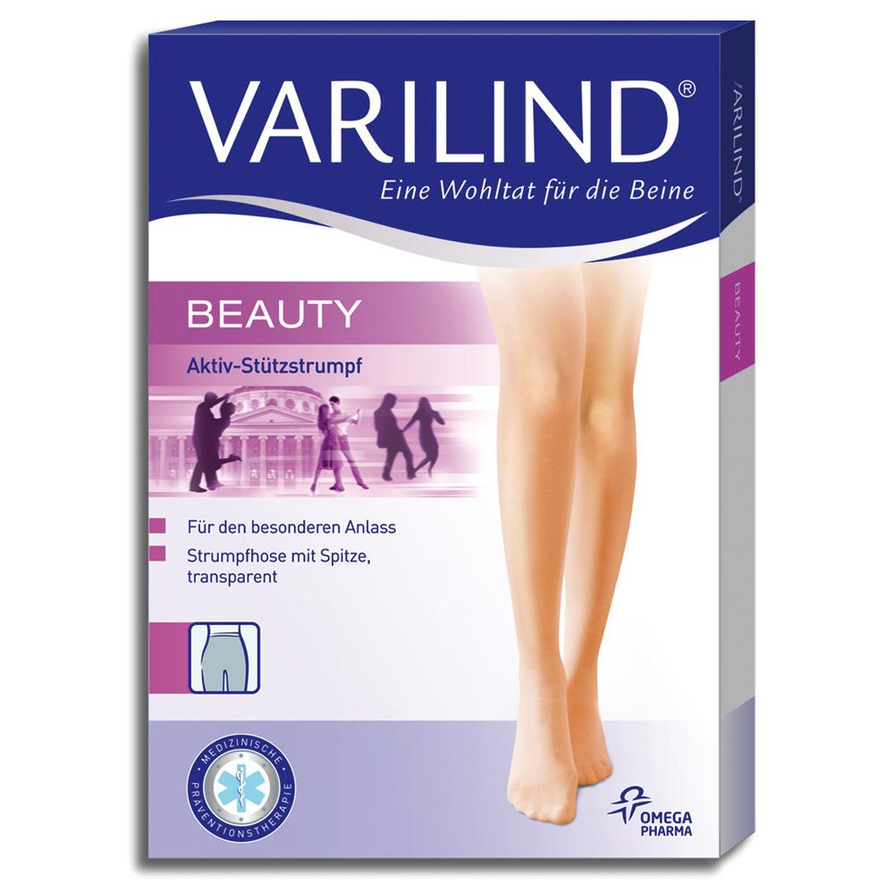 Varilind® Beauty Strumpfhose 100 DEN muschel Gr. 3 (42-44)