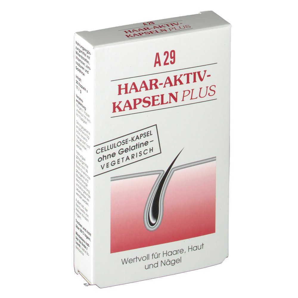 Alsiroyal A29 Haar-Aktiv-Kapseln Plus