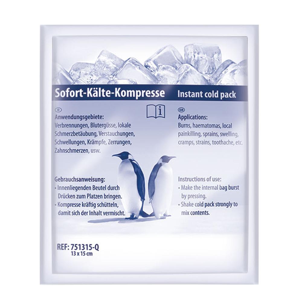 Sofort-Kälte-Kompresse 13 x 15 cm