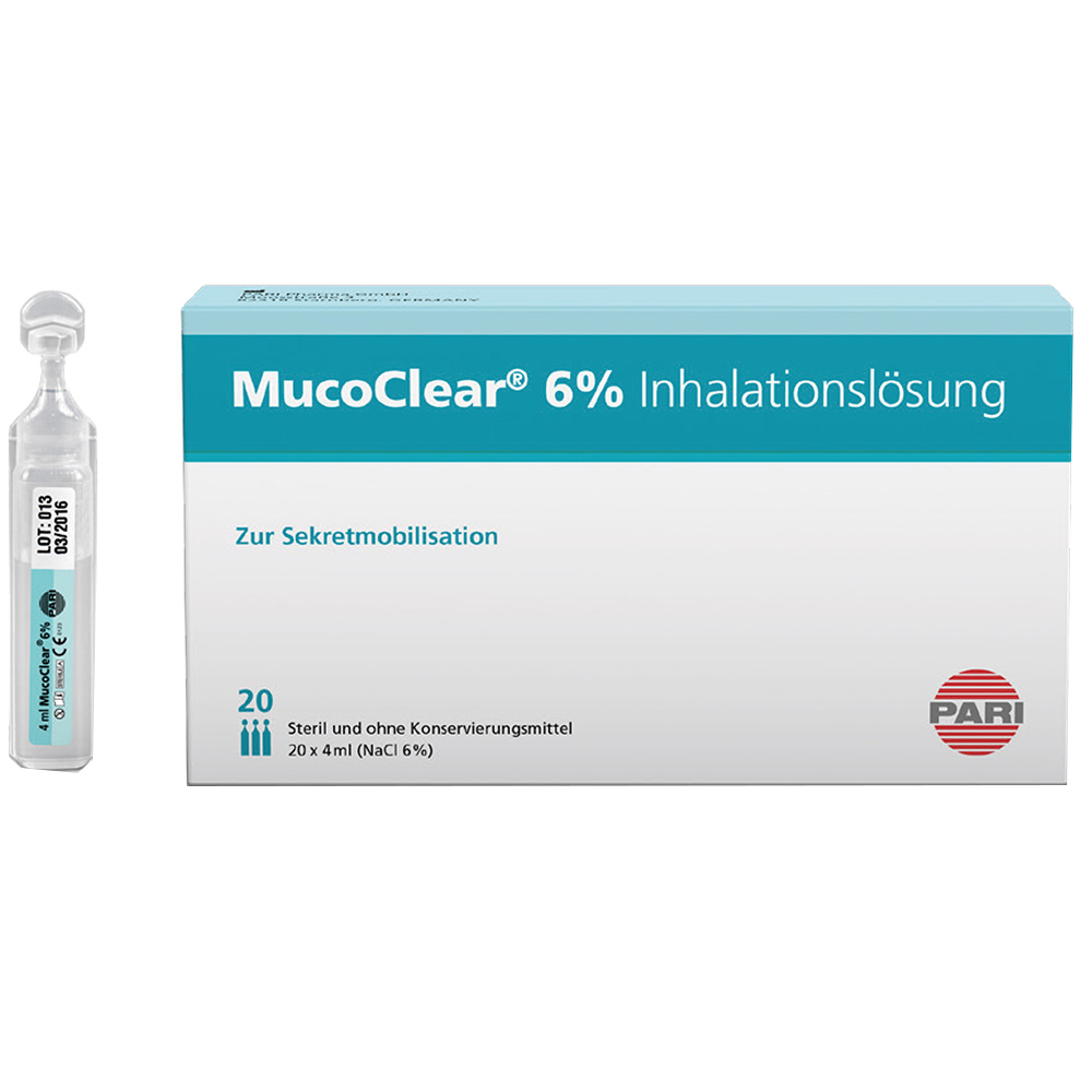 MucoClear 6%® Inhalationslösung