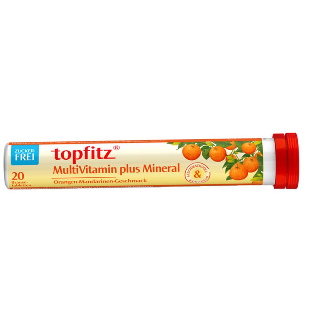 Topfitz Multivitamin + Mineral Brausetabletten