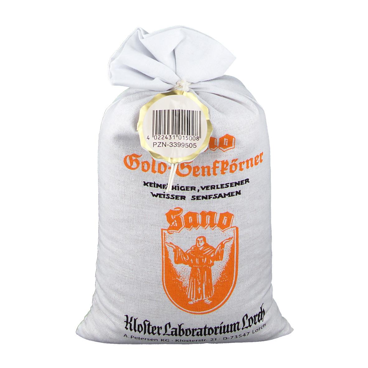 Sano Gold-Senfkörner 500 g Samen