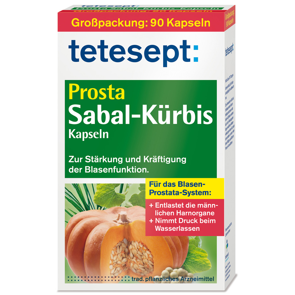 tetesept® Prosta-Sabal-Kürbis