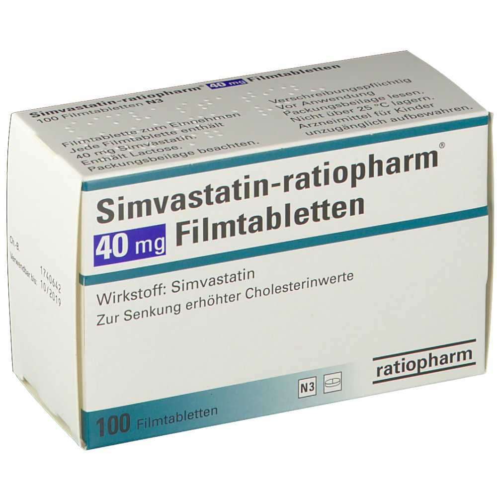Simvastatin 40 Mg Tablet S6