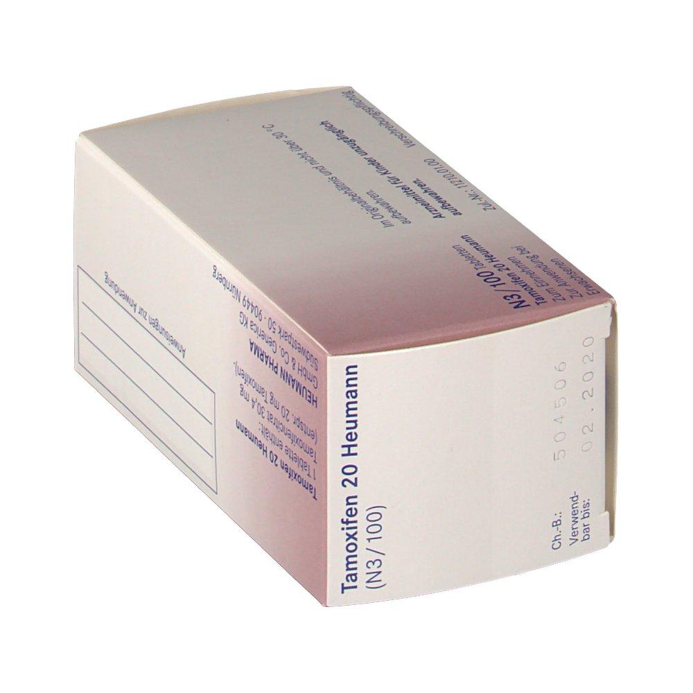 Nolvadex 20 mg controindicazioni test