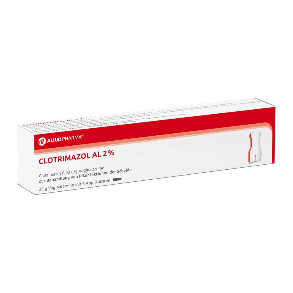 Clotrimazol AL 2% Vaginalcreme