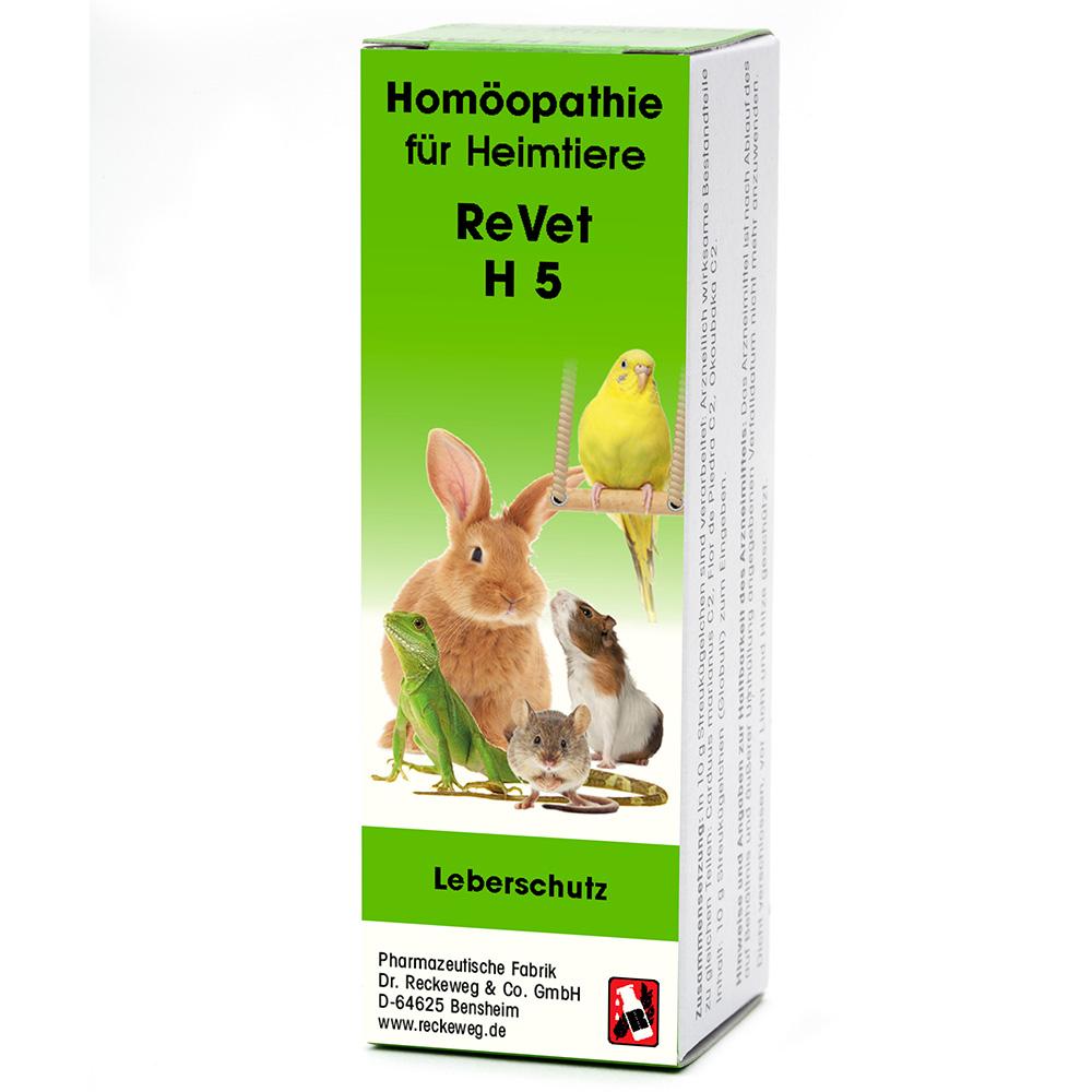 ReVet® H 5 Globuli für Heimtiere