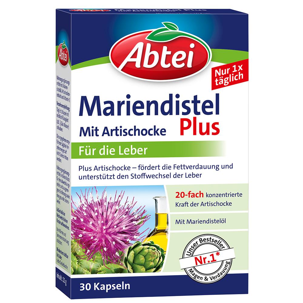 Abtei Mariendistel Plus mit Artischocke