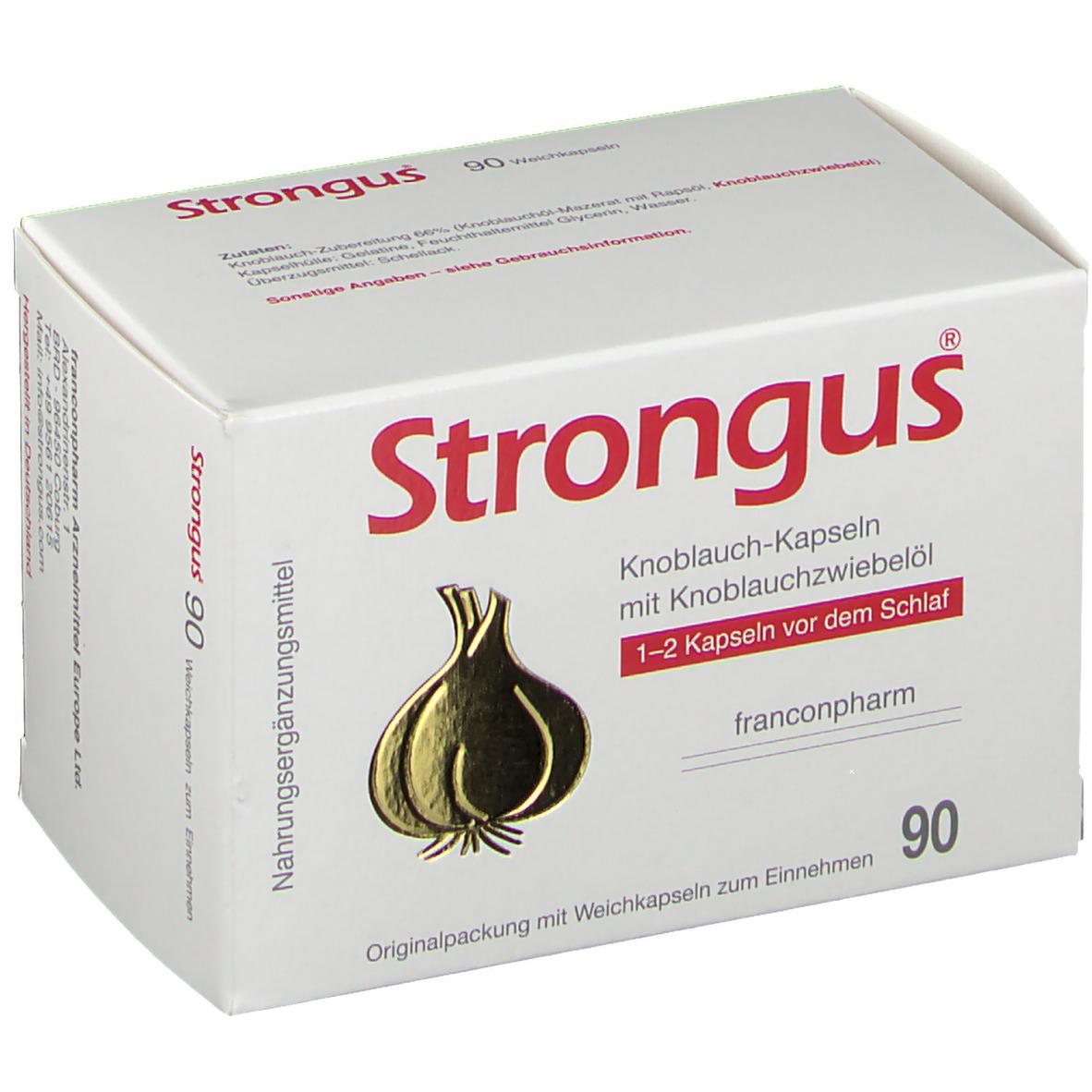 Strongus® Knoblauch-Kapseln 90 St Kapseln 03739668