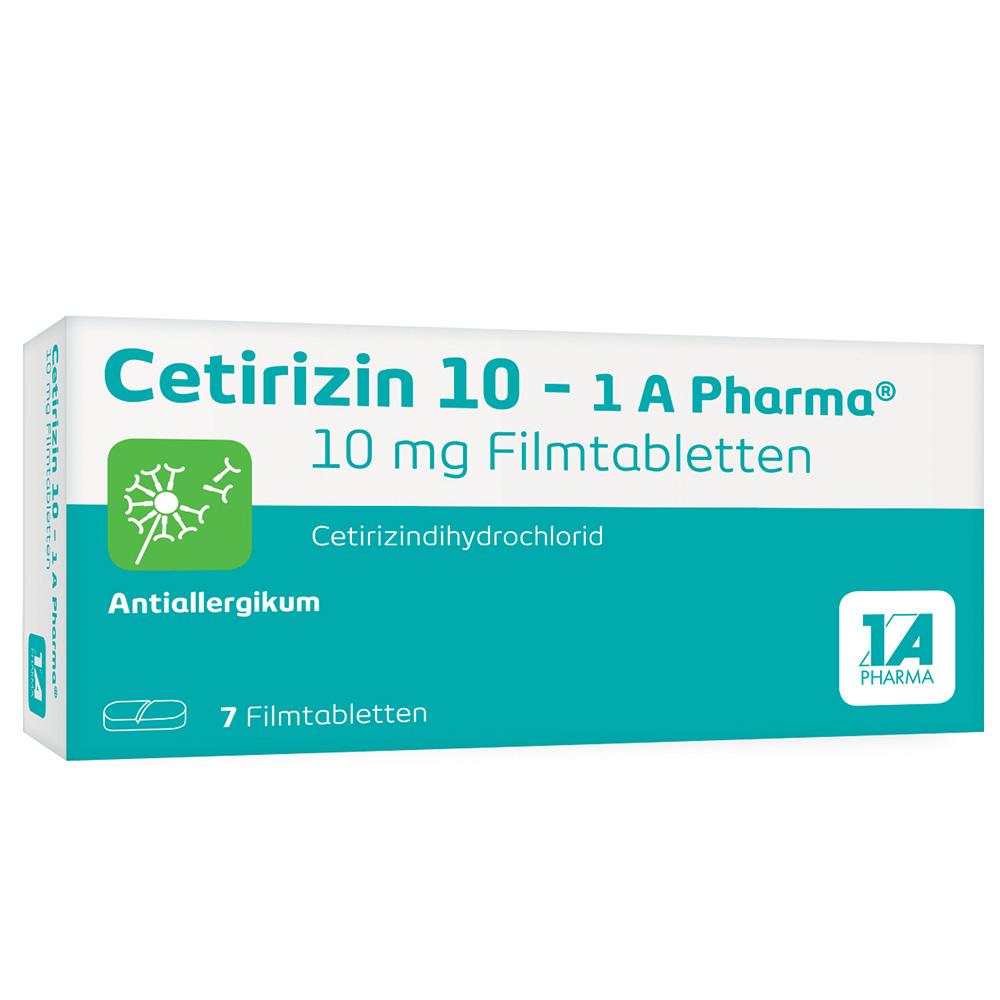 Cetirizin 10 - 1 A Pharma®