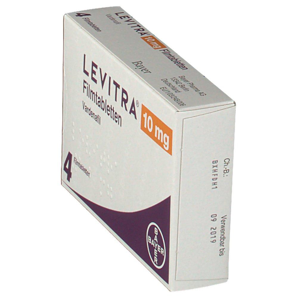 levitra 10 mg 4 tablet