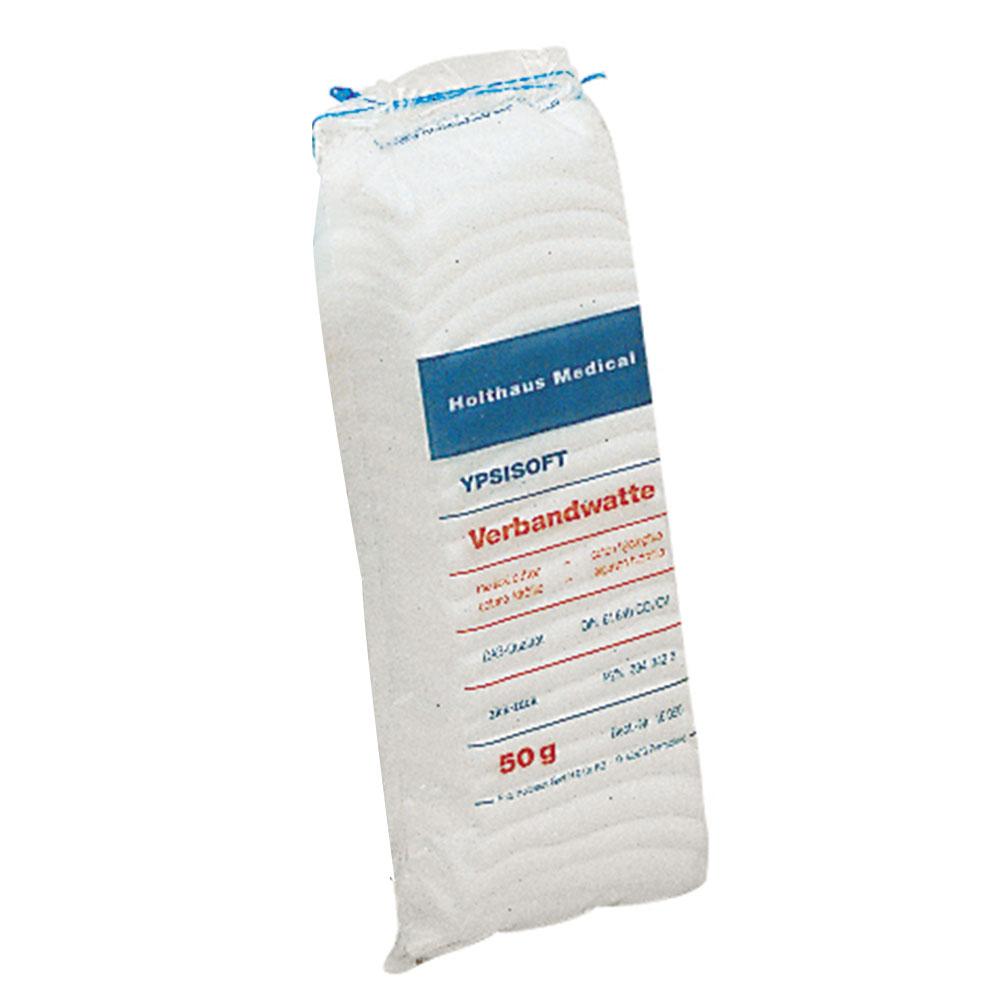 10 x YPSISOFT Verbandwatte CO//CV zickzack DAB 50 g