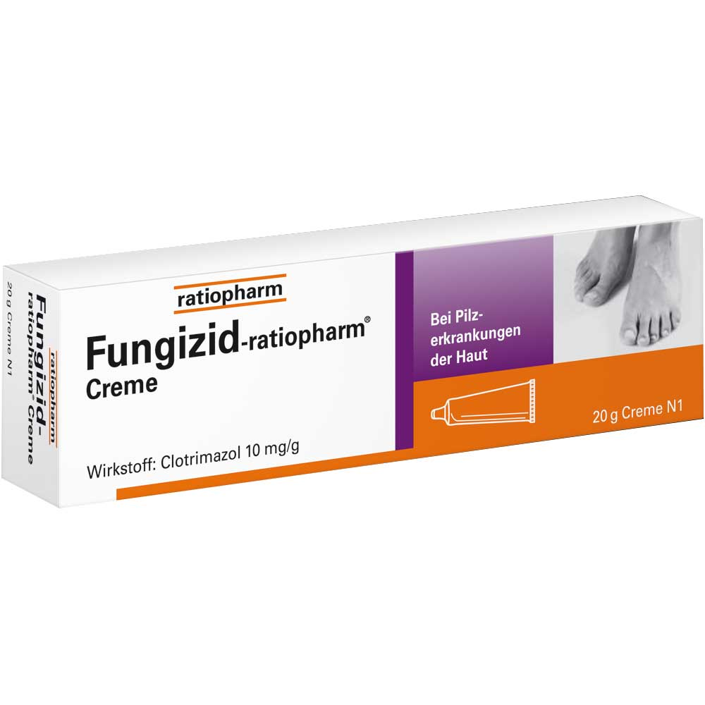 Fungizid ratiopharm Creme