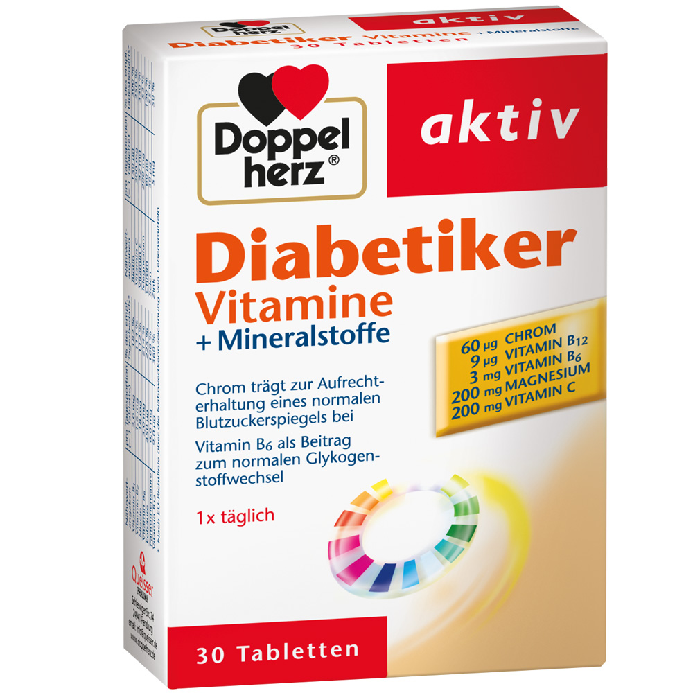 Wichtige vitamine für diabetiker
