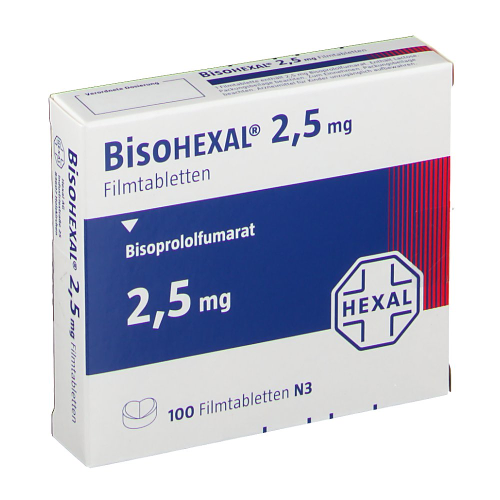 Bisoprolol 2.5 Mg Daily