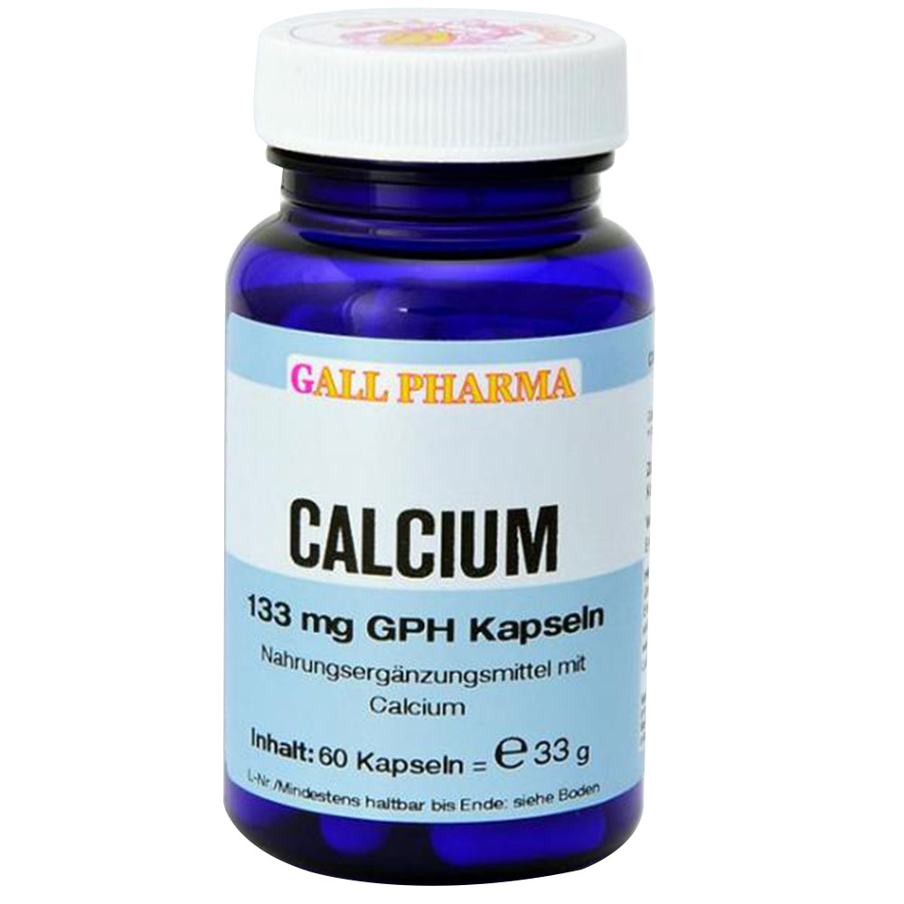 Calcium 133 mg GPH Kapseln