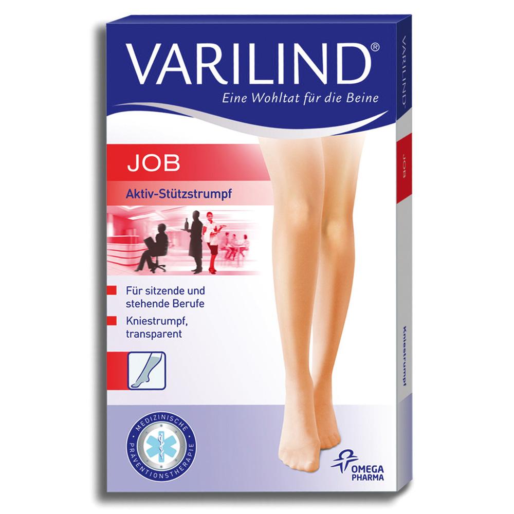 Varilind® Job Kniestrümpfe 100 DEN muschel Gr. M (40-42,5)