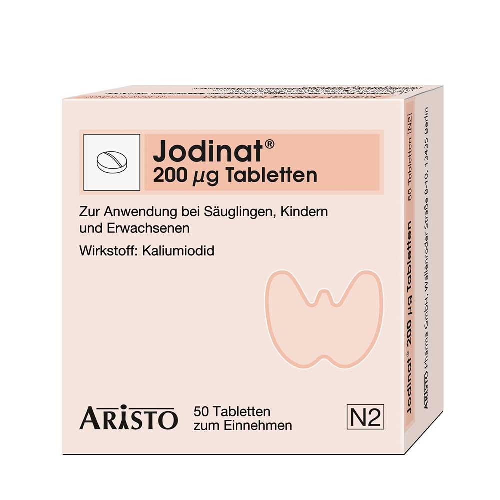 Jodinat® 200 µg Tabletten