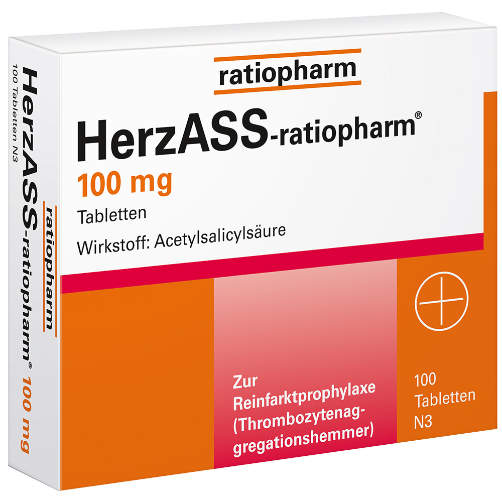 HerzASS-ratiopharm® 100 mg