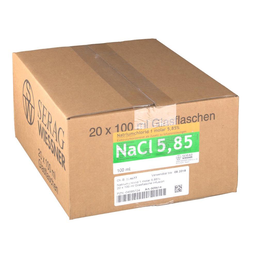 Natriumchlorid 1 molar 5,85 % Infusionslösungskonzentrat